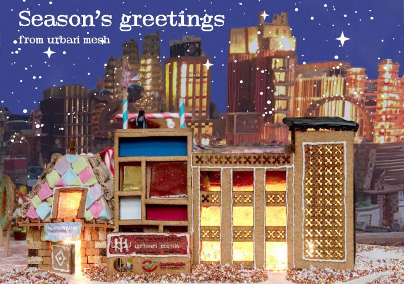 Urban Mesh at Gingerbread City