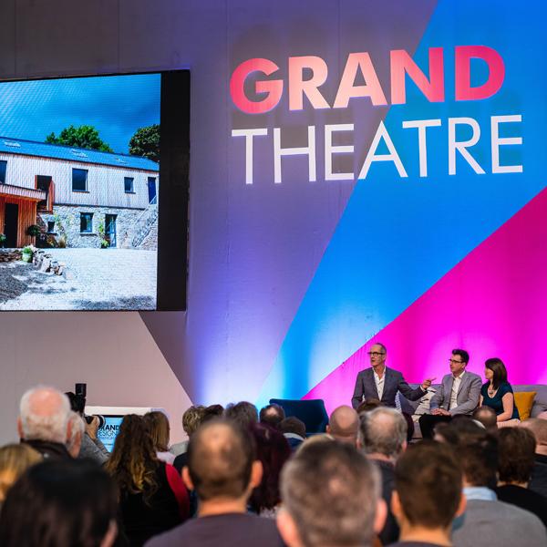 Grand Designs Live theatre