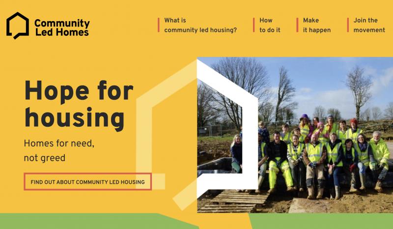 Community Led Homes website