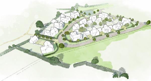 Tadpole Garden Village plan