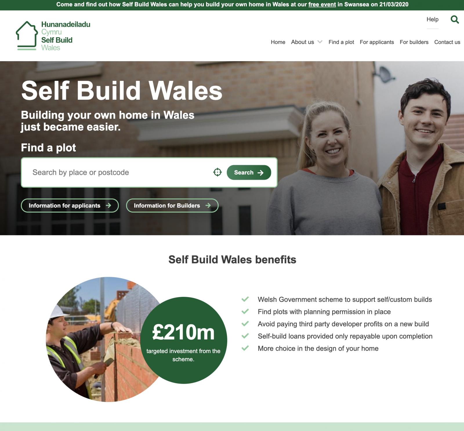 Self Build Wales