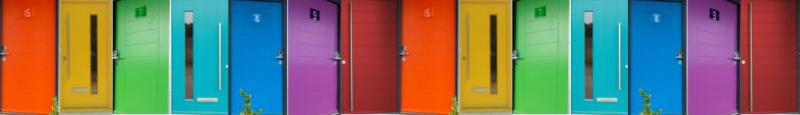 Kloeber Funky Front Doors