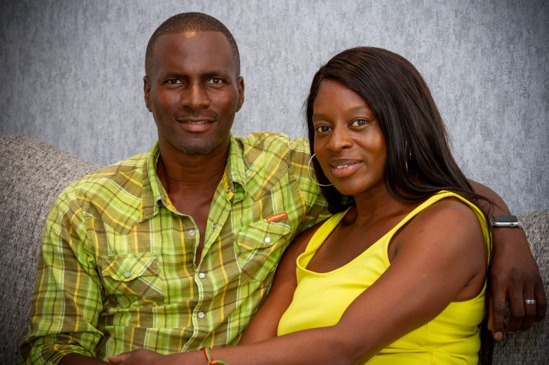 Self Builders Sam and Zakima Omotayo