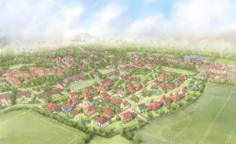 Framlingham Custom Build Site by Leaper Land