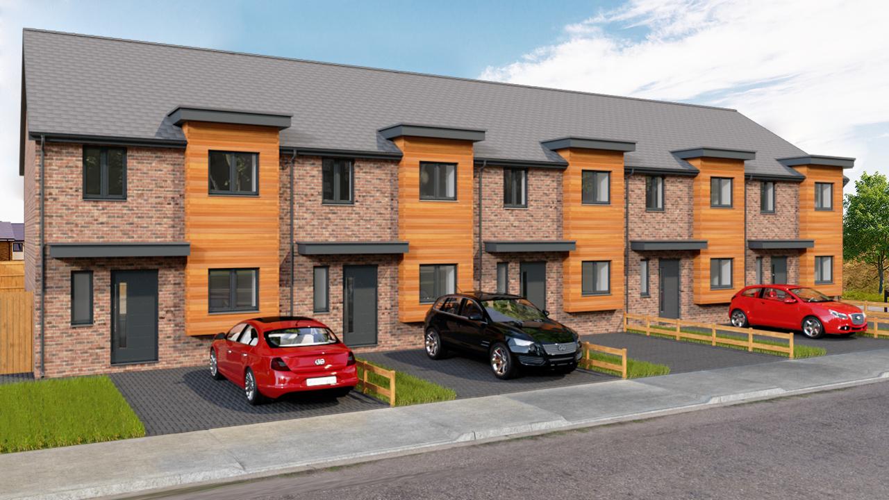 Glade custom build home