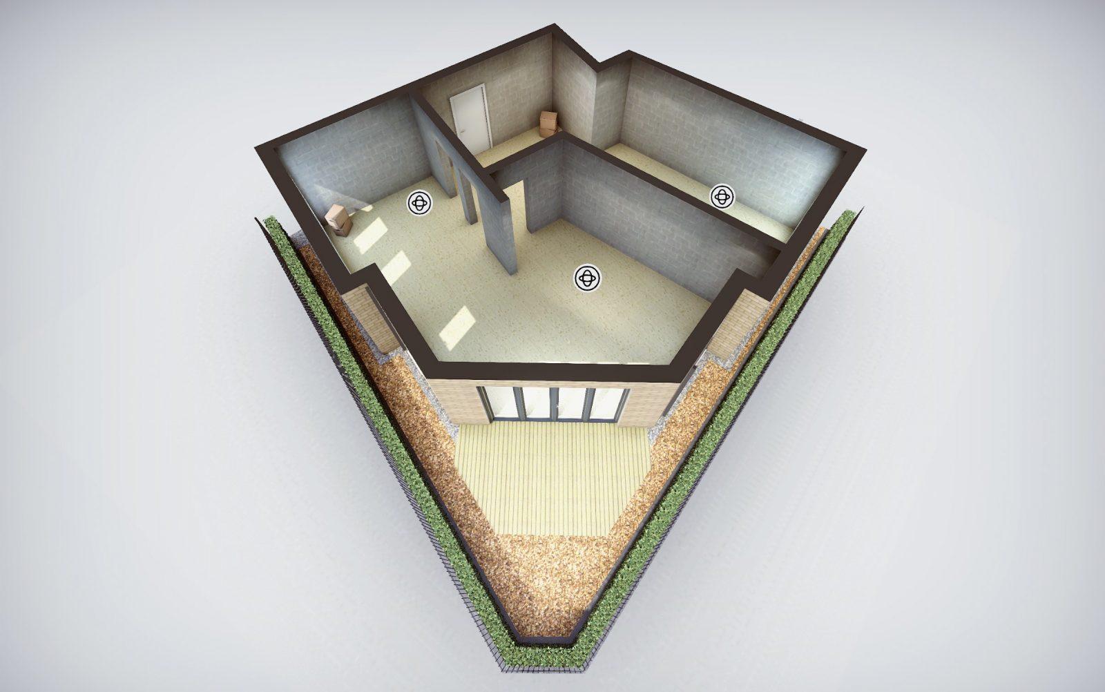 Goldcrest's shell scheme plan 2